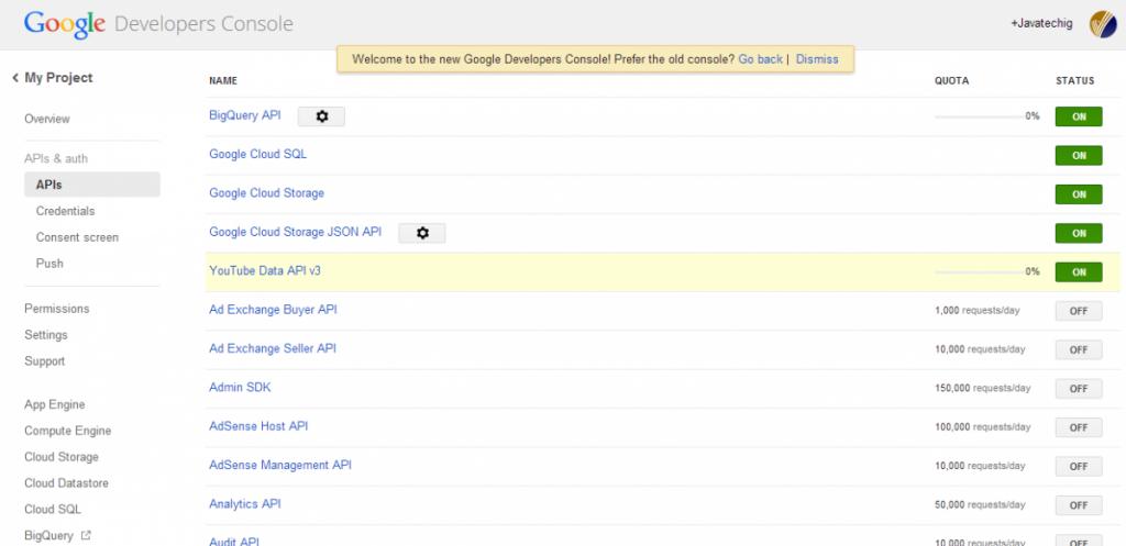 Google API Developer