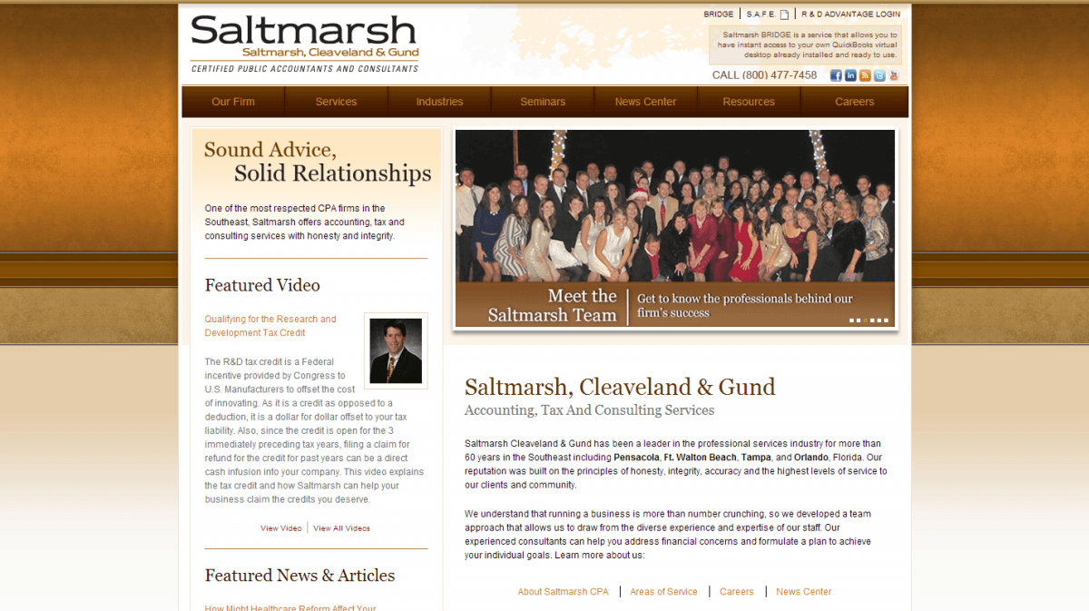 Saltmarsh Cleveland and Gund