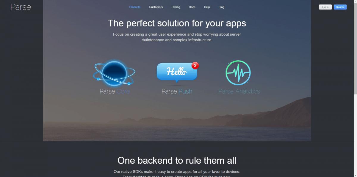 Parse, The Complete Mobile App Platform